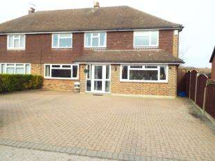 5 Bedrooms Semi Detached House for sale in Main Road, Hoo, Rochester, Kent