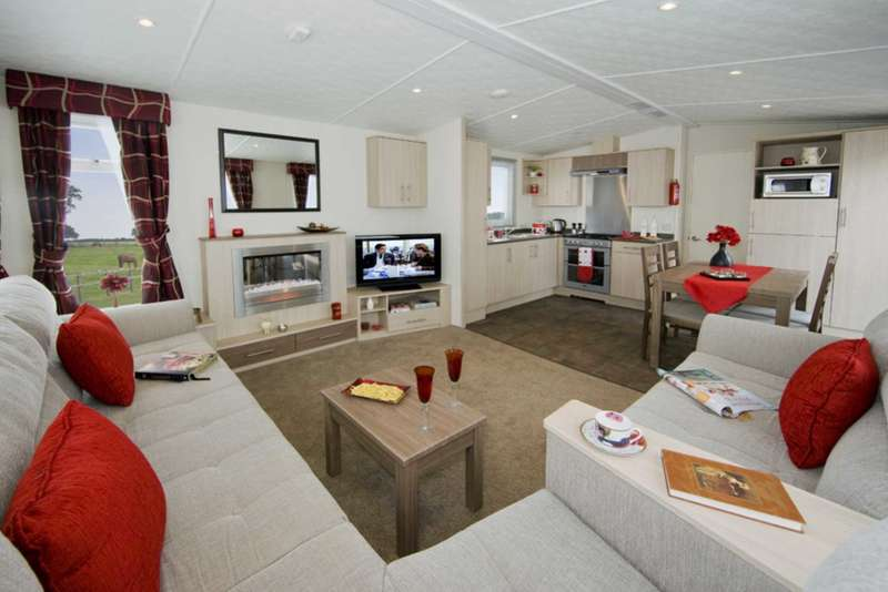 2 Bedrooms Caravan Mobile Home for sale in Ladram Bay Holiday Park
