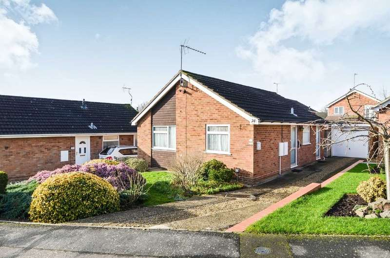 2 Bedrooms Detached Bungalow for sale in Rydal Close, Rugby