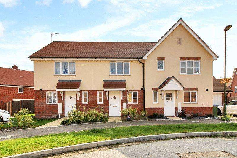 2 Bedrooms Terraced House for sale in Sargent Way, Wickhurst Green, Broadbridge Heath