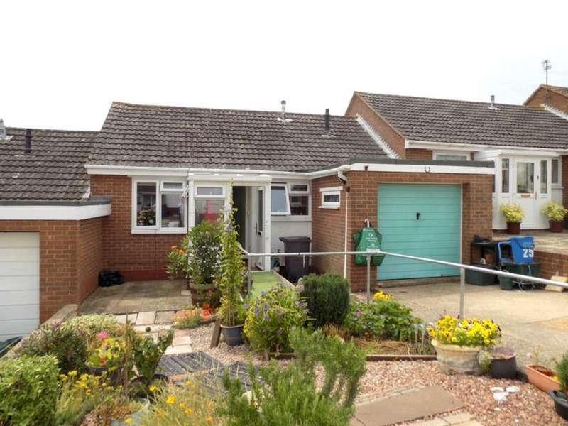 2 Bedrooms Terraced Bungalow for sale in Linden Close, Exmouth