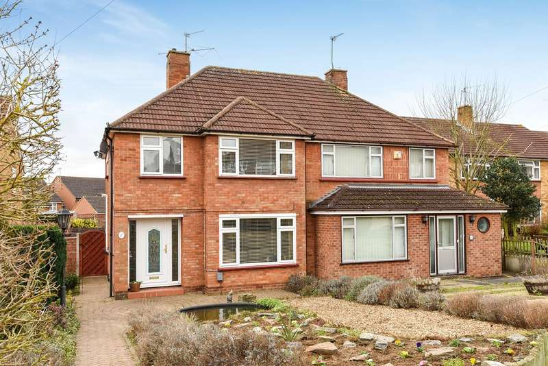 3 Bedrooms Semi Detached House for sale in Aston Rise, Hitchin, SG4