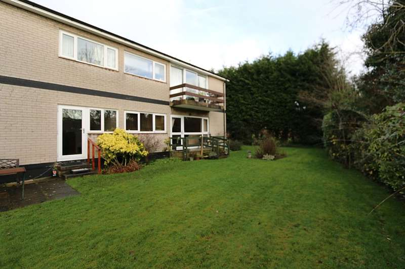 2 Bedrooms Ground Flat for sale in Tudor House, Abbey Way, Hartford, Northwich, Cheshire, CW8 1LY