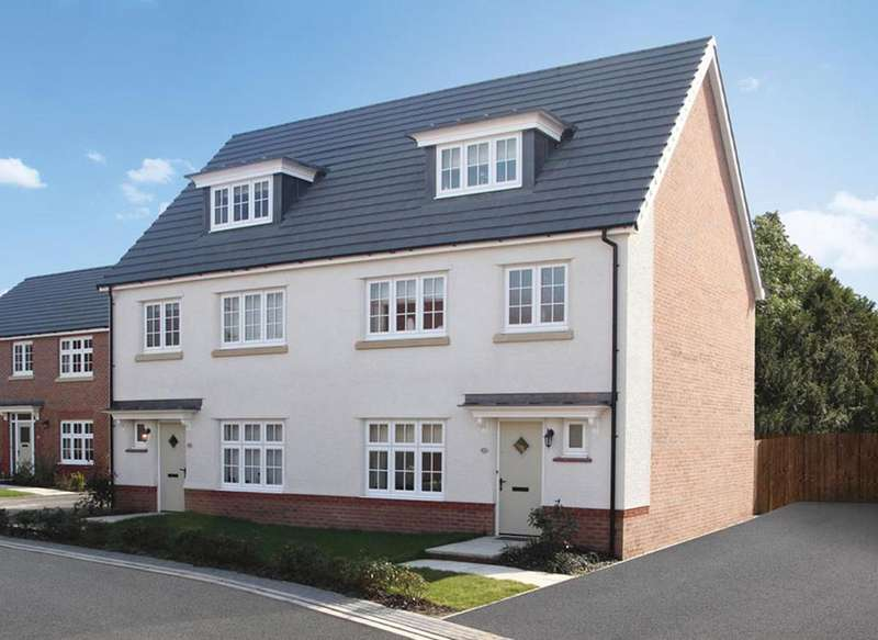4 Bedrooms Semi Detached House for sale in Plot 21, The York, Stanbury Meadows
