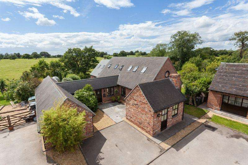 5 Bedrooms Barn Character Property for sale in Lane End Court, Chorlton Lane, Chorlton, Nr Nantwich
