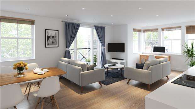 2 Bedrooms Flat for sale in 2 Bed Apartment, The Old Library, Cheltenham Road, BRISTOL, BS6 5QX