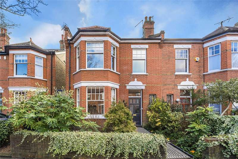 5 Bedrooms Semi Detached House for sale in Webster Gardens, Ealing, W5