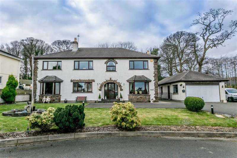 4 Bedrooms Detached House for sale in Farmhill Park, Douglas, Isle of Man