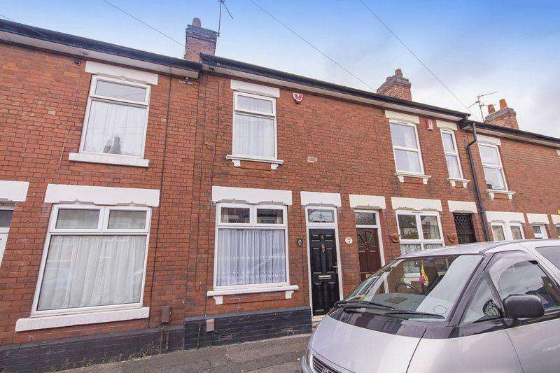 3 Bedrooms Terraced House for sale in CHATHAM STREET, DERBY