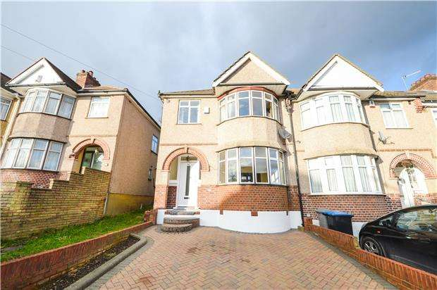 3 Bedrooms End Of Terrace House for sale in Lavender Avenue, KINGSBURY, NW9 8HD