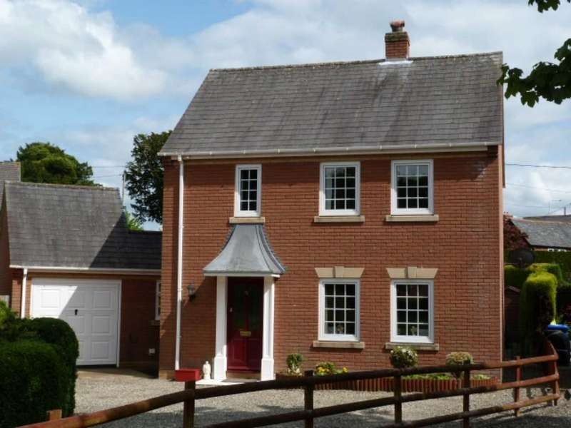 3 Bedrooms Detached House for sale in 33 Park Avenue, Kerry, Newtown