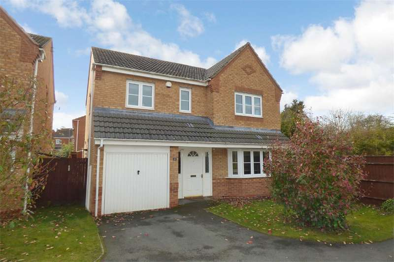 4 Bedrooms Detached House for sale in Rosemary Way, Bermuda Park, Nuneaton, CV10