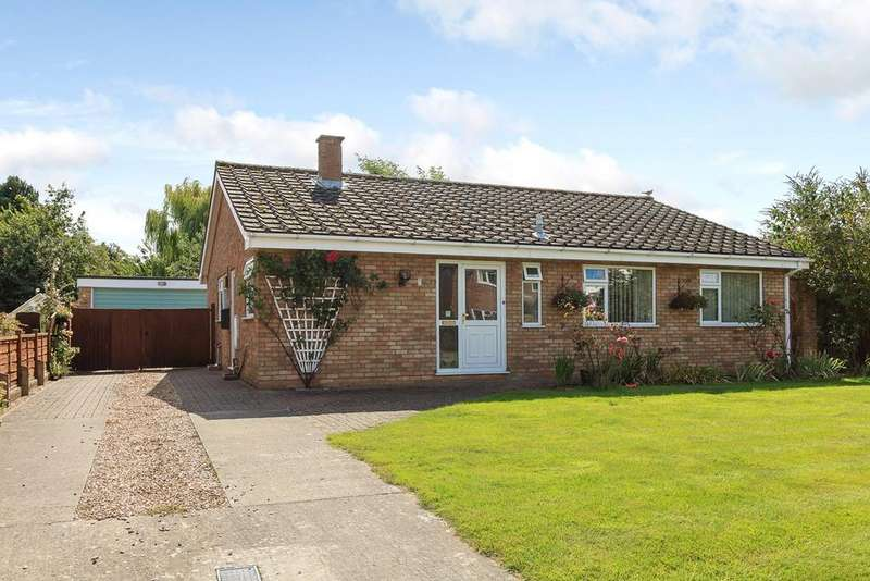 3 Bedrooms Detached Bungalow for sale in Francis Road, HINXWORTH, SG7