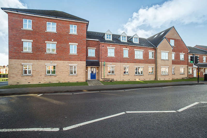 2 Bedrooms Flat for rent in Samuel Court, Cudworth, Barnsley, S72