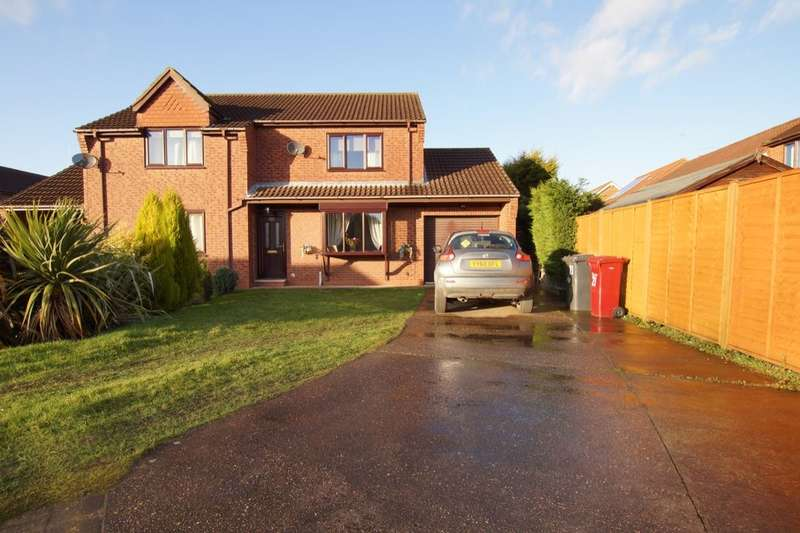 2 Bedrooms Semi Detached House for sale in Hawthorn Close, Wootton, Ulceby, DN39