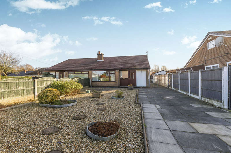 3 Bedrooms Semi Detached Bungalow for sale in Withy Trees Avenue, Bamber Bridge, Preston, PR5