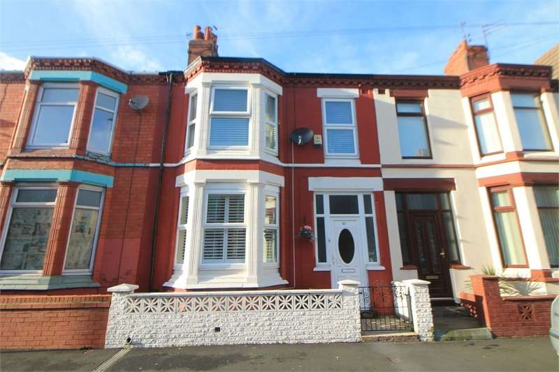 3 Bedrooms Terraced House for sale in Redvers Drive, Orrell Park, Merseyside, Merseyside