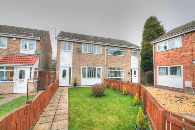3 Bedrooms Semi Detached House for sale in Renfrew Green, Newcastle Upon Tyne, NE5