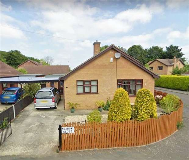4 Bedrooms Detached Bungalow for sale in Meadow Close, Grimoldby, Louth, Lincolnshire