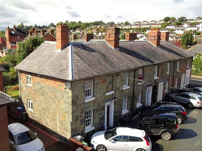 3 Bedrooms End Of Terrace House for sale in Waterloo Place, Welshpool, Powys