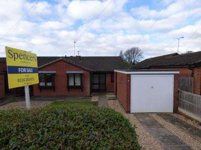 2 Bedrooms Bungalow for sale in Radiant Road, Off Scraptoft Lane, Leicester, Leicestershire