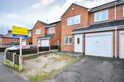 3 Bedrooms Semi Detached House for sale in Abbott Road, Mansfield, Nottinghamshire