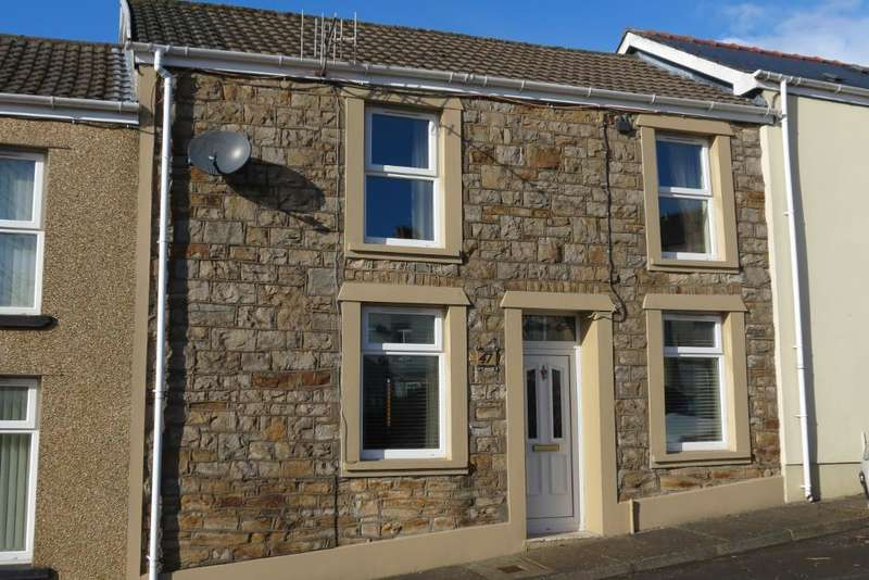 3 Bedrooms Terraced House for sale in Goshen Street, Rhymney, Tredegar, Caerphilly Borough, NP22 5NF