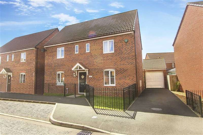 4 Bedrooms Detached House for sale in Cloverfield, West Allotment, Tyne And Wear