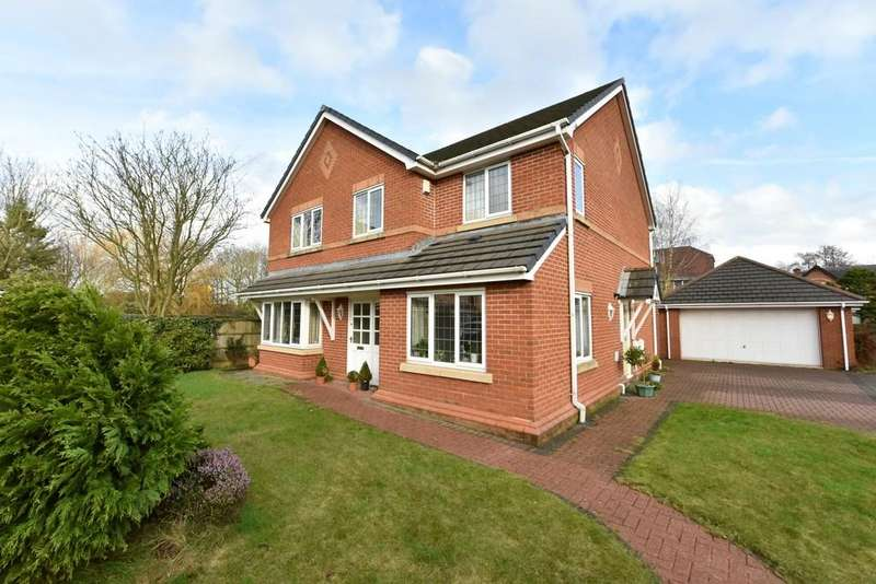5 Bedrooms Detached House for sale in The Poplars, Burscough
