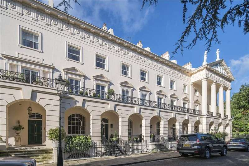 Terraced House for sale in Hanover Terrace, Regent's Park, London, NW1