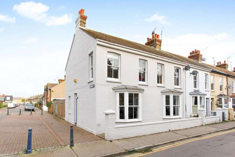 4 Bedrooms End Of Terrace House for sale in Regent Street, Whitstable, CT5