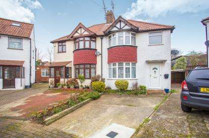3 Bedrooms Semi Detached House for sale in Green Close, Kingsbury, London, Kingsbury