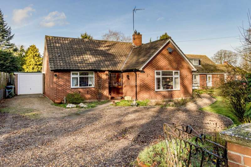 3 Bedrooms Detached Bungalow for sale in Oxborough