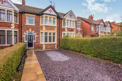3 Bedrooms Terraced House for sale in St. Annes Road, Blackpool, Lancashire, FY4