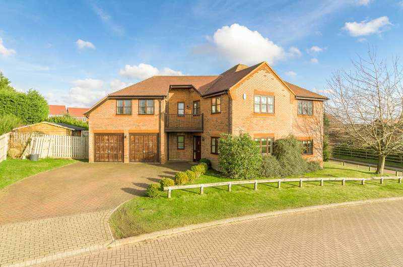 5 Bedrooms Detached House for sale in Alpine Croft, Shenley Brook End