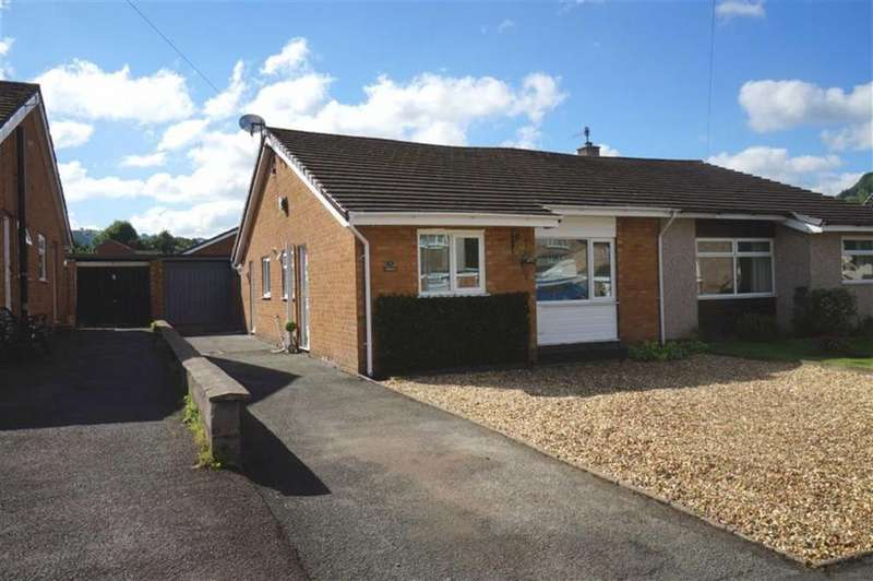3 Bedrooms Semi Detached Bungalow for sale in Llwyn Brith, Llanrwst, Conwy