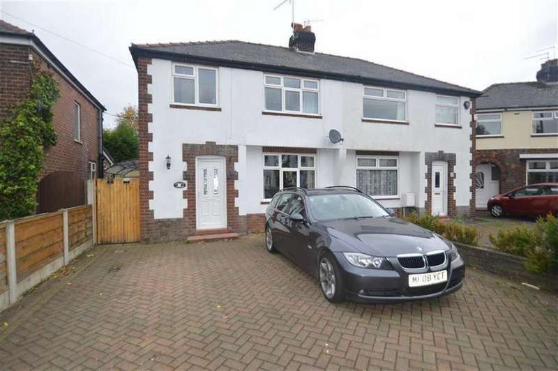 4 Bedrooms Semi Detached House for sale in Springfield Road, Macclesfield