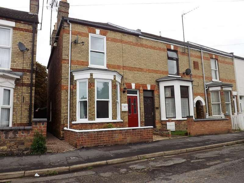 3 Bedrooms Semi Detached House for sale in Colvile Road, Wisbech