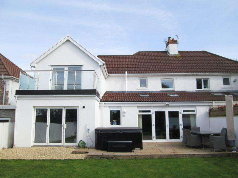 5 Bedrooms Semi Detached House for sale in Ewenny Road Bridgend CF31 3HU