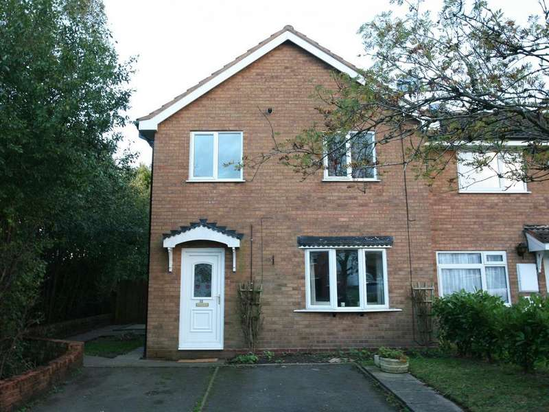 2 Bedrooms Mews House for sale in 33 Maycroft Close, Hednesford, WS12 4SJ