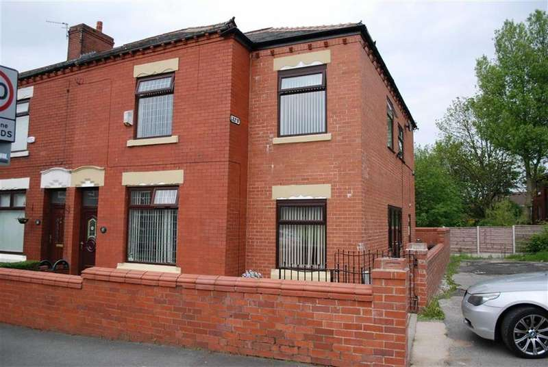 3 Bedrooms End Of Terrace House for sale in Kenyon Lane, Middleton, Lancs