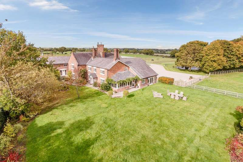 5 Bedrooms Equestrian Facility Character Property for sale in Beeston, Tarporley