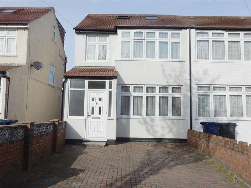 4 Bedrooms End Of Terrace House for sale in St. Josephs Drive, Southall, Middlesex