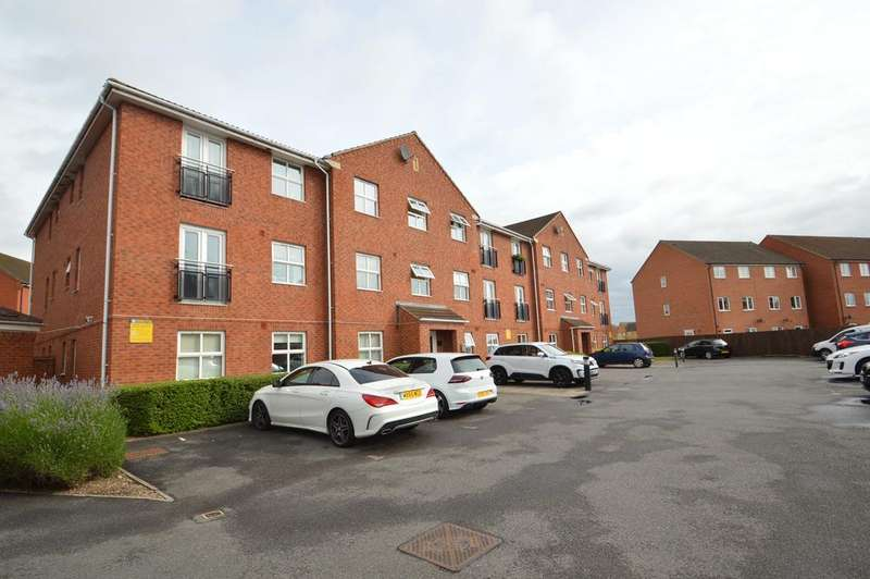 2 Bedrooms Ground Flat for sale in Lynmouth House, Welland Road, Hilton DE65