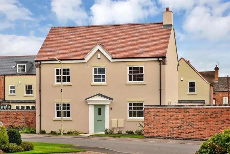 3 Bedrooms Detached House for sale in Armston Road, Quorn