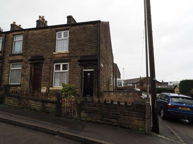2 Bedrooms End Of Terrace House for sale in Eaves Knoll Road, New Mills, High Peak, Derbyshire, SK22 3DN