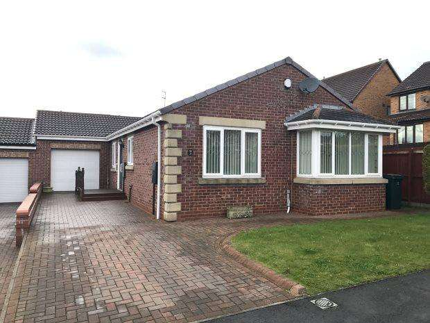 3 Bedrooms Detached Bungalow for sale in ASHBOURNE DRIVE, COXHOE, DURHAM CITY : VILLAGES EAST OF