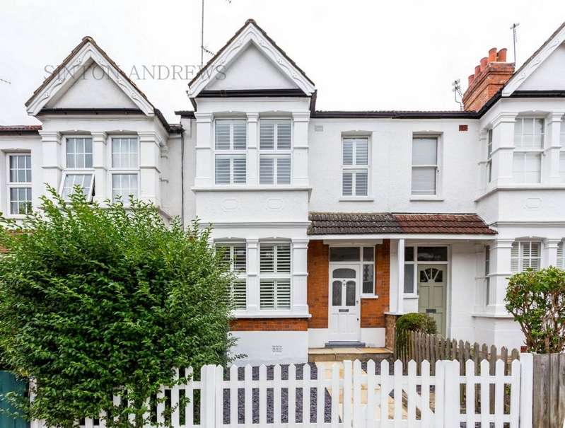 4 Bedrooms House for sale in Curzon Road, Ealing, W5