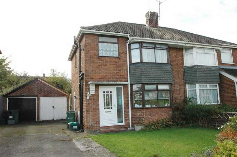 3 Bedrooms Semi Detached House for sale in Clifford Drive, Off Lache Lane, Chester