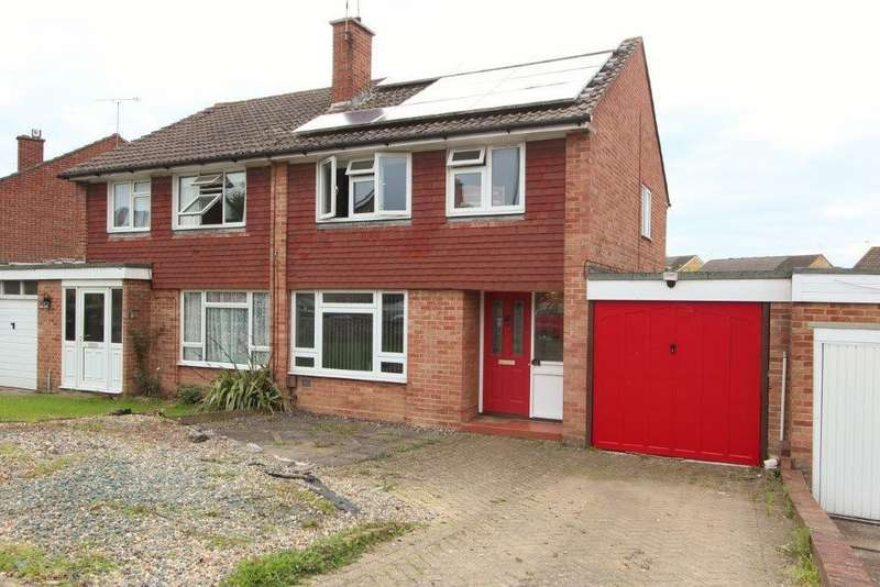 3 Bedrooms Semi Detached House for sale in Valerian Road, Hedge End SO30